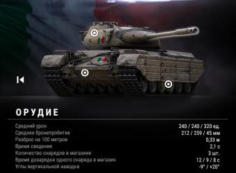 Progetto M35 mod 46 – первый итальянский танк в WOT
