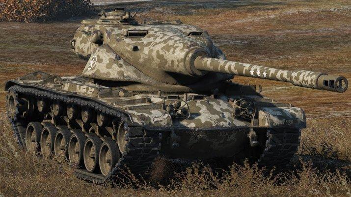 T54E1 в World of Tanks: Нужно целиться